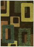 Shaw Living Origins Metro 10700 Earthen Brown Closeout Area Rug - 2014
