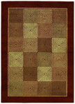 Shaw Living Origins Rhythm 13700 Earthen Brown Closeout Area Rug - 2014