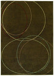 Shaw Living Origins Echo 07700 Earthen Brown Closeout Area Rug - 2014
