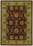 Shaw Living Origins Palladian 12800 Cayenne Red Closeout Area Rug - 2014