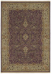 Shaw Living Century Sheridan 04900 Eggplant Closeout Area Rug - 2014
