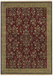 Shaw Living Century Beaumont 00800 Scarlet Closeout Area Rug
