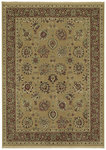 Shaw Living Century Lenox 03710 Gold Closeout Area Rug - 2014