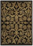 Shaw Kathy Ireland Home International First Lady Via Verde 21500 Old Republic Black Closeout Area Rug