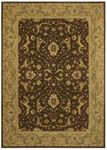 Shaw Kathy Ireland Home International First Lady Somerset House 23700 Brown Closeout Area Rug - Spring 2013