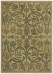 Shaw Kathy Ireland Home International First Lady Via Verde 21100 Beige Closeout Area Rug - Spring 2013