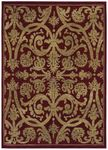 Shaw Kathy Ireland Home International First Lady Via Verde 21800 Red Closeout Area Rug - Spring 2013
