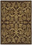Shaw Kathy Ireland Home International First Lady Via Verde 21700 Brown Closeout Area Rug - Spring 2013