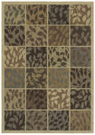 Shaw Living Timber Creek By Phillip Crowe Seasons 24110 Light Multi Closeout Area Rug