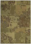 Shaw Living Transitions Fleur 10100 Beige Closeout Area Rug