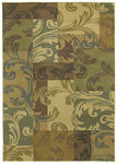 Shaw Living Transitions Giselle 04110 Light Multi Closeout Area Rug - 2014