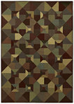 Shaw Living Transitions Rooftops 13440 Multi Closeout Area Rug - 2014