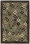 Shaw Living Concepts Broadway 00700 Brown Closeout Area Rug