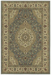 Shaw Living Concepts Beqir 08400 Blue Closeout Area Rug - 2014