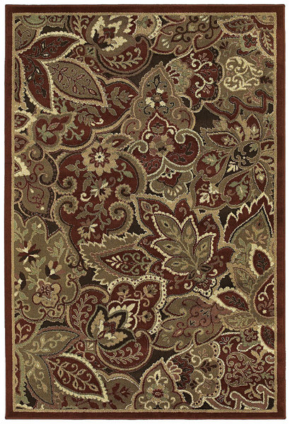 Shaw Living Concepts Marrakech 15800 Red Closeout Area Rug 2017