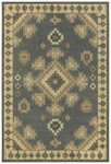 Shaw Living Concepts Taos 01400 Blue Closeout Area Rug - 2014