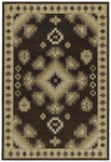 Shaw Living Concepts Taos 01700 Brown Closeout Area Rug - 2014