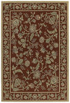 Shaw Living Concepts Eliza 06800 Red Closeout Area Rug - 2014