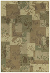 Shaw Living Concepts Idyll 07100 Beige Closeout Area Rug - 2014