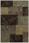 Shaw Living Concepts Primavera 12700 Brown Closeout Area Rug - 2014