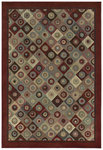 Shaw Living Concepts Broadway 00800 Red Closeout Area Rug
