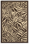 Shaw Living Concepts Wild Savanna 03700 Brown Closeout Area Rug