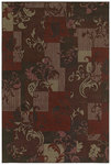 Shaw Living Concepts Idyll 07800 Red Closeout Area Rug