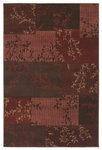 Shaw Living Concepts Primavera 12800 Red Closeout Area Rug - 2014