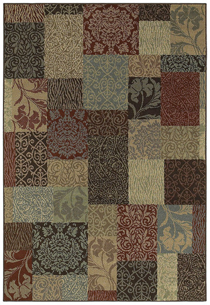 Shaw Living Concepts Chloe 14440 Multi Closeout Area Rug