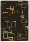 Shaw Living Inspired Design Cubist 17700 Brown Closeout Area Rug - 2014