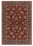 Shaw Living Inspired Design Chateau Garden 02800 Red Closeout Area Rug - 2014