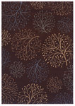 Shaw Living Inspired Design Isabella 12700 Brown Closeout Area Rug - 2014