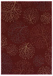 Shaw Living Inspired Design Isabella 12800 Red Closeout Area Rug - 2014