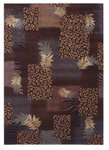 Shaw Living Inspired Design Majesty 13700 Brown Closeout Area Rug - 2014