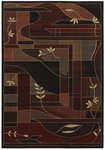 Shaw Living Inspired Design Soraya 16500 Black Closeout Area Rug - 2014