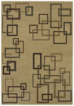 Shaw Living Inspired Design Cubist 17100 Beige Closeout Area Rug - 2014