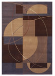 Shaw Living Inspired Design Mojo 07700 Brown Closeout Area Rug - 2014