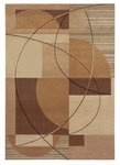 Shaw Living Inspired Design Mojo 07200 Gold Closeout Area Rug - 2014