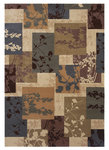 Shaw Living Inspired Design Madison 11100 Beige Closeout Area Rug - 2014