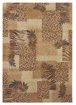 Shaw Living Inspired Design Majesty 13100 Beige Closeout Area Rug - 2014