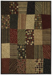 Shaw Living Inspired Design Jazz Age 18440 Multi Closeout Area Rug