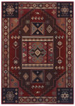 Shaw Living Inspired Design Vallero 05800 Red Closeout Area Rug - 2014