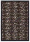 Shaw Living Woven Expressions Gold City Block 15500 Ebony Closeout Area Rug - 2014