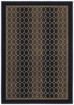 Shaw Living Woven Expressions Gold Soho 18500 Ebony Closeout Area Rug - 2014
