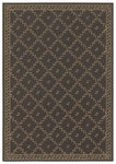 Shaw Living Woven Expressions Gold Trellis Leaf 16700 Chocolate Closeout Area Rug - 2014