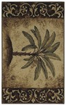 Shaw Living Reflections Palm 05100 Beige Closeout Area Rug - 2014