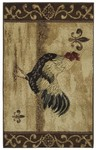 Shaw Living Reflections Maison Rooster 11100 Beige Closeout Area Rug - 2014