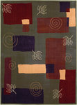 Shaw Living Reverie Pond 08300 Fern Closeout Area Rug - 2014