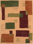 Shaw Living Reverie Pond 08700 Gold Closeout Area Rug - 2014
