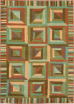 Shaw Living Reverie Kaleidoscope 02700 Auburn Closeout Area Rug - 2014